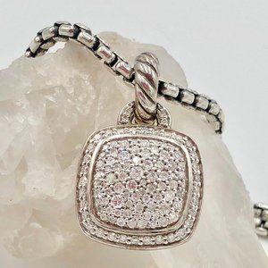 David Yurman Albion Pendant 14mm Diamond
